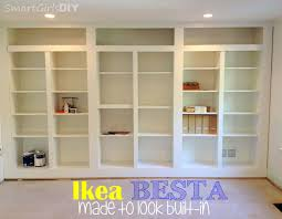 built in bookcase and why it u0027s not finished family room 7