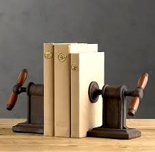 unique kids room bookends vintage