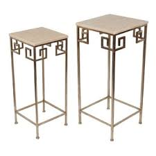 Marble Accent Table Granite End Side Tables You Ll Wayfair
