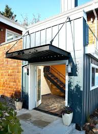 Exterior Door Awnings Modern Door Canopy Exterior Door Awning Front Door Canopy Image