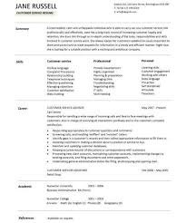 download customer service resume skills haadyaooverbayresort com