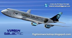 virgin galactic boeing 747 8i for fsx