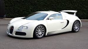 Normal 4 3 White Bugatti Veyron With Spoiler Wallpaper
