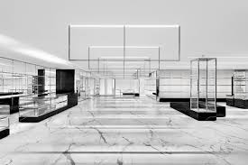 saint laurent alexandra house store marbles interiors and