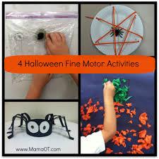 Halloween Printables For Kindergarten by 4 Halloween Fine Motor Activities Mamaot
