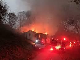 firefighters battle structure fire in bluefield news bdtonline com