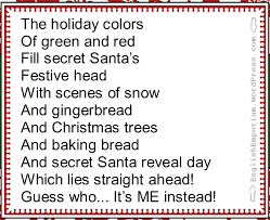 secret santa or silly santa secret pal ideas from author chelly wood