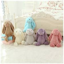 stuffed bunnies for easter 55cm soft plush bunny easter bunny doll for kids babys