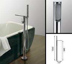 Bathroom Taps With Shower Attachment Loft Freestanding Bath Tap With Shower Attachment Livinghouse