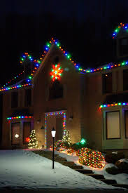 Colored Christmas Lights by Outdoor Lighting Perspectives