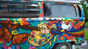 volkswagen bus art painted vw van youtube