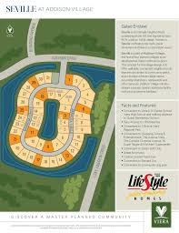Viera Florida Map by Seville In Viera Brevard County Home Builder Lifestyle Homes