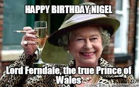 Prince Birthday Meme - meme creator happy birthday nigel lord ferndale the true prince