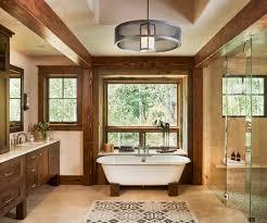 Rustic Bathroom Vanities For Sale Bathroom Phenomenal Modern Bathroom With Beams On Your House