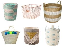 Basket Home Decor How To Declutter Your Life And Give Any Room A Stylish Makeover