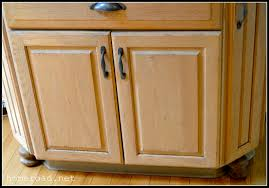 Repurpose Old Kitchen Cabinets by Homeroad New Bun Feet