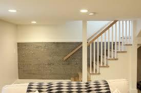 elegant painting concrete basement walls inspiration wall