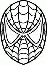 spiderman coloring printable colouring pages varnaru