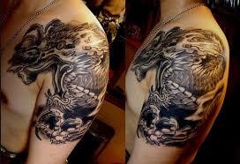 69 designer japanese shoulder tattoos