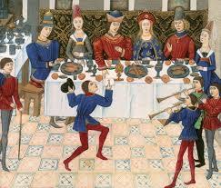 la cuisine au moyen age l de la table la cuisine du moyen age illuminated