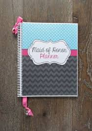 of honor planner of honor wedding planner book wedding by organizedbride