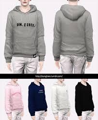 basic hoodie sims3