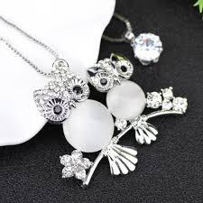 crystal owl necklace images Crystal owls necklace 50 off promo gadgetmule jpg