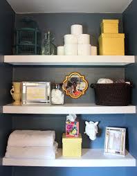 stylish storage for a small bathroom u2014 stevie storck design co