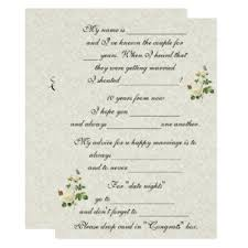 Marriage Advice Cards For Wedding Bride Well Wishes Gifts On Zazzle