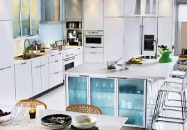 kitchen room 2017 white marble top kitchen island beside small