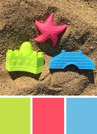 Green Color Palette by Color Inspiration Summer Beach Toys Merriment Design