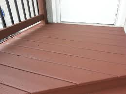 Pictures Of Painted Decks by What If It Rains On Behr Deckover Small Change In My Deck