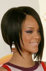 short hair one side and long other hair short on one side long on the other asymmetrical