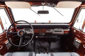 Toyota Land Cruiser Interior 1972 Toyota Land Cruiser Fj40 The Fj Company Reveals Latest Project