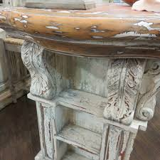 Kitchen Island With Corbels Corbels French Kitchen Island Majestic Fog Distressed