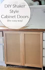 how to build shaker style kitchen cabinets shaker kitchen cabinet doors diy page 1 line 17qq