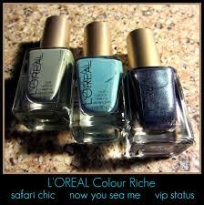 l u0027oreal colour riche safari chic now you sea me u0026 vip status