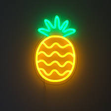 pineapple new neon led sign