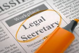 Legal Secretary Job Description For Resume by Sample Legal Secretary Resume