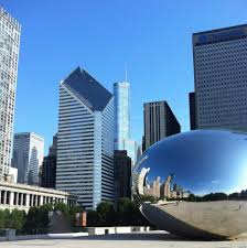 The Bean Chicago Map by Chicago Millennium Park Is The Perfect Public Space Travelsmart