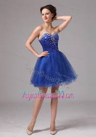 short royal blue pageant dress with sequins and rhinestones