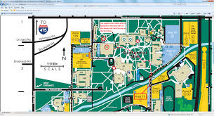 Western Michigan University Campus Map by Ohio Maa And Great Lakes Siam To Meet Together At The University
