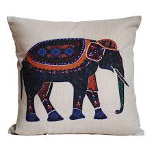 Ethnic Indian Home Decor Decor Batik Elephant Pillow For Charming Home Accessories Ideas