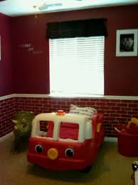 Best Firefighter Bedroom Images On Pinterest Firefighter - Firefighter kids room