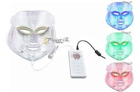 neutrogena face mask light the top 4 led light therapy face masks for anti aging acne 2018