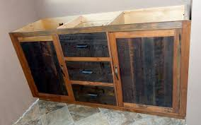 Barn Board Bathroom Vanity Rustic Lodge Log And Timber Furniture Handcrafted From Green