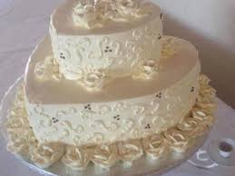 classic heart shaped wedding cake cakecentral com