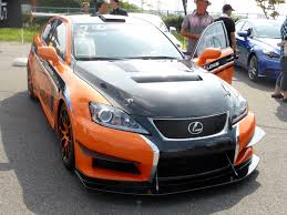 lexus isf sports car file the frontview of lexus is f circuit club sport racer jpg