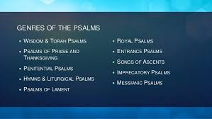 Psalms Of Praise And Thanksgiving Worship And The Psalms