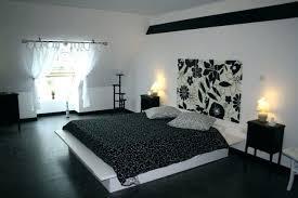 chambre ado noir et blanc deco noir et blanc chambre decoration chambre ado noir et blanc